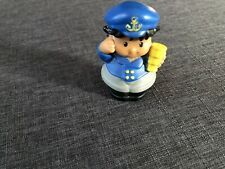 Fisher Price Little People SEA CAPTAIN SAILOR for Boat Ship SCOPE Anchor Hat