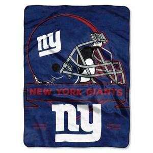 """New York Giants 60"""" x 80"""" Royal Plush Blanket by Northwest"""
