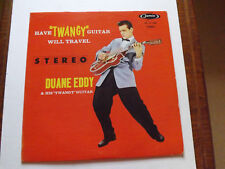 "DUANE EDDY HAVE ""TWANGY"" GUITAR WILL TRAVEL"