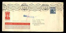 CZECHOSLOVAKIA 1938 PHILATELIC EXHIBITION ENVELOPE CENSORED to W.T WILSON GB