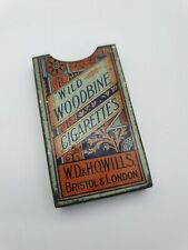 More details for antique wild woodbine cigarettes tin waistcoat sleece / packet - rare