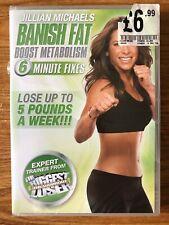 Jillian Michaels - Banish Fat, Boost Metabolism  (DVD) Brand New Sealed