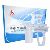 Medical Sputum Aspirator Manual Portable Suction Pump Hand Patient Use