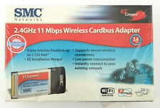 Smc 2.4 Ghz 11 Mbps Wireless Cardbus Adapter for Windows 98, Me, 2000, Xp