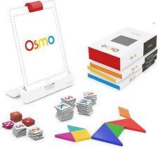 New Osmo Genius Kit Visual Thinking Problem Solving Set w/ 5 Games Ages 5-12 Nib