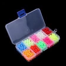 1000Pcs Luminous Fishing Beads Lure Glow Beads Fishing Fishing Beads Kit