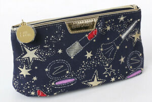NEW ~ Estee Lauder Navy Blue Horoscope Night Sky Makeup Cosmetic Travel Bag Case