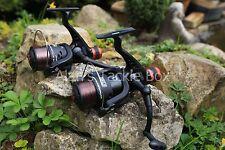 2 x NGT CKR50 grossolano/float/mulinello da pesca spinning con linea 8 LB (ca. 3.63 kg) POSTERIORE trascinare S