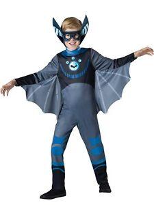 Incharacter Wild Kratts Bat Blue Standard Boys Kids Halloween Costume 141702