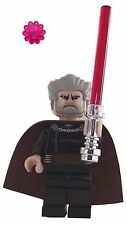 LEGO Star Wars: MINI PERSONAGGIO Count Dooku con luce rossa e spada Fiore * bt0048