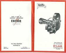 NOTICE/CATALOGUE-CAMEFLEX ECLAIR -TYPE STANDARD - Caméra  16/35 mm - 16 pages