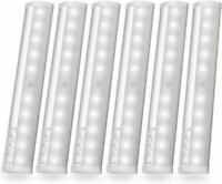 Cabinet Motion Sensing LED Night Light Closet Portable Magnetic Bar  Kuled 6pack