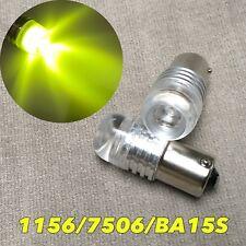 1156 7506 180° P21W Reverse Backup Light Yellow 5W Cree LED bulb W1 For Audi VW