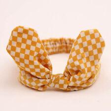 Baby Girl Headband Bow Knot Hairband Head Wrap Scarf Headwear Hair Accessories R