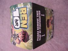 MERLIN -  BEN 10  - SEALED BOX OF 50 PACKETS OF STICKERS