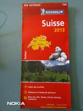 CARTE NATIONALE MAP MICHELIN N°729 SUISSE / SCHWEIZ / SWITZERLAND - Etat neuf