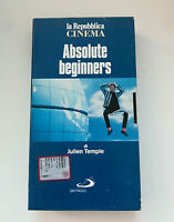 ABSOLUTE BEGINNERS VHS - Videocassetta La Repubblica Cinema