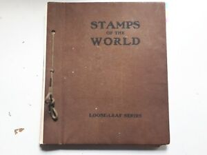 OLD STAMPS of the WORLD ALBUM :  WORLD COLLECTION - 900 USED STAMPS.