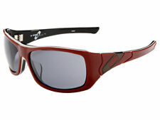 Oakley Sideways Sunglasses 30-751 Brick Red/Grey