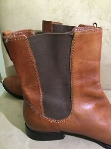 Cole Haan Mens Sz 10 Oswego Chelsea Brown Boots