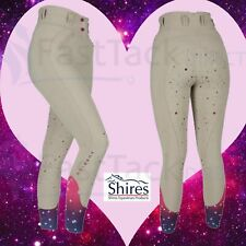 SHIRES NEBULAR BREECHES | Ladies Aubrion High Waisted Silicone Riding Breeches