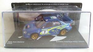 SUBARU IMPREZA WRC 2003 RALLY SCALA 1/43
