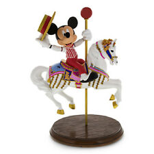 Disney Jingles and Mickey Mouse Figure Sculpture NRFB!! Sold Out! Carousel Pony