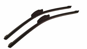 Front Pair Wiper Blades fits Subaru 1400 01/73-12/75 13/13in