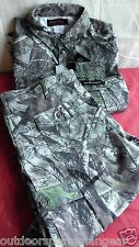 29cfbc0ddbc80 Realtree Xtra Shirt & Pants Set Med Sports High Tech Camo Fall Hunting  Clothing