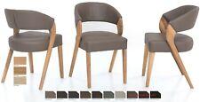 Standard Furniture Almada Polsterstühle Cocktailsessel Schalenstuhl massiv