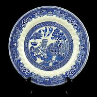 """Myott Old Willow Blue 10"""" Dinner Plate Made In Staffordshire England"""