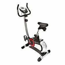 Marcy CL303 Magnetic Exercise Bike Deluxe Upright Fitness Gym Workout Cycle