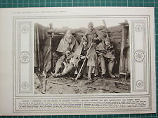 1915 WWI WW1 PRINT ~ BRITISH MILITARY CLOTHING MACKINTOSHES & RUBBER BOOTS