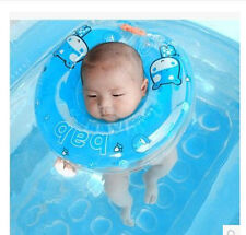 Safety Baby Neck Float Infant Inflatable Ring Swimming Pool Toy Circle Ring~!