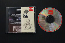 CD: ROUSSEL Le Festin l'araignee SCHMITT Piano Quintet Op.51 1993 EMI