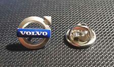 Volvo Pin Logo 12x12mm Pfeil blau-weiß-silbern Original