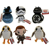 Funko Galactic Plushies - Star Wars Episode 8: The Last Jedi - SET OF 6 - New