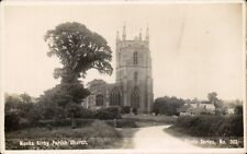 Monks Kirby near Ansty & Rugby. Parish Church # 303 in Baxter's Series.
