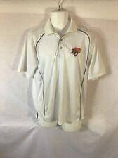 Men's White BULLETIN BC Tigers Golf Shirt Size Large