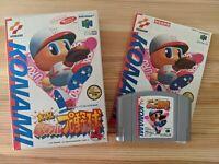 Jikkyou Powerfull Pro Yakyuu Baseball 4 JAP Nintendo 64 Japan N64 Videospiel