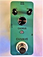 Cuvave CH1 Chorus  guitar effects pedal,  True By-Pass