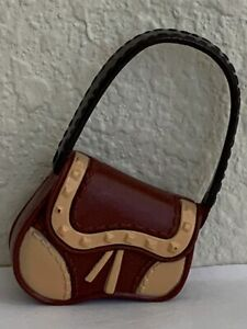 My Scene Barbie Brown & Cream Purse Handbag