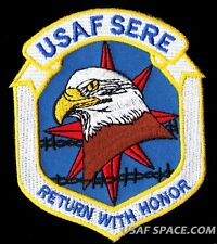 USAF - SERE - RETURN WITH HONOR - FULL COLOR - US  AIR FORCE PATCH
