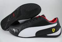 PUMA SF DRIFT CAT 7 BLACK/WHITE/ROSSO CORSA RED FERRARI F1 RACING US MENS SIZES