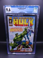 INCREDIBLE HULK #449 CGC 9.6 1st Appearance of the THUNDERBOLTS! Disney+ MCU