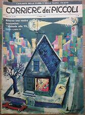 Corriere dei Piccoli N. 24 1962 topo gigio spirù uggeri con inserto piccolissimi