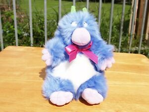 """ULTRA RARE - GUND SANDRA BOYNTON - BLUE MONSTER - 7"""" -  NWOT"""