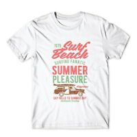 Surf Beach T-Shirt. 100% Cotton Premium Tee NEW