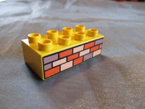 Lego Duplo Mauer Stein 8er Bob der Baumeister Haus Wand Nr. 3011pb002