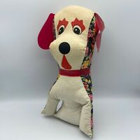 Vintage 1960-70s Fair/Carnival Prize Dog Stuffed Plush 12""
